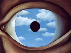 The false mirror - Magritte